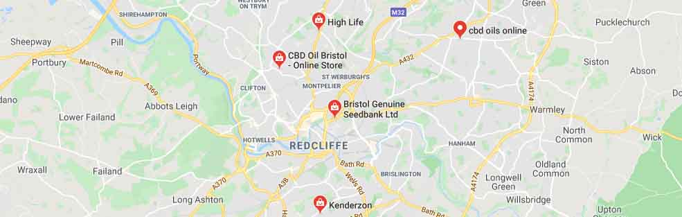 Where to buy CBD oil in Bristol, UK.