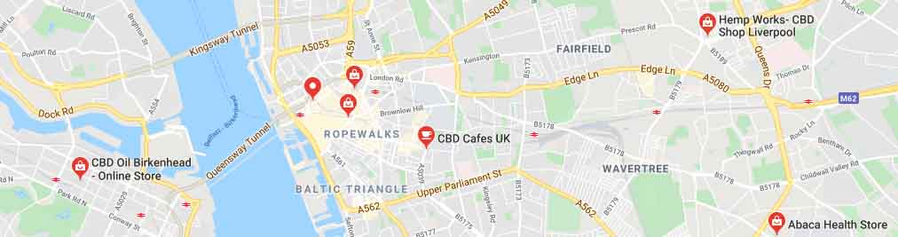 Where to find CBD oil in Liverpool, UK.